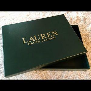 Ralph Lauren Apparel Box